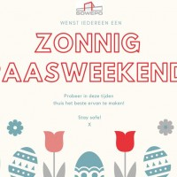 Zonnig Paasweekend!